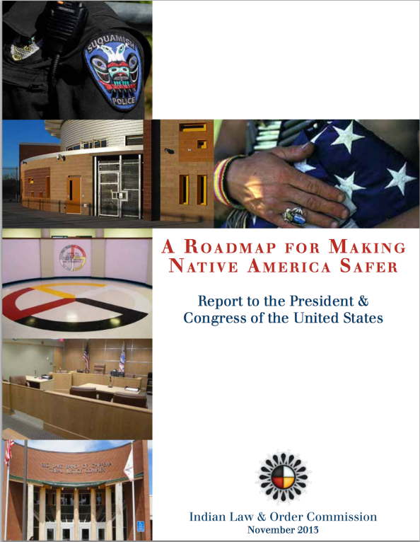 Roadmap for making Native America Safer